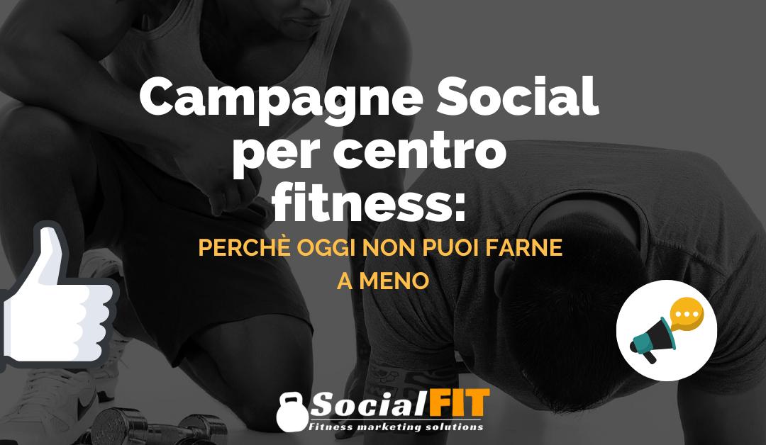 Campagne Social per centro fitness